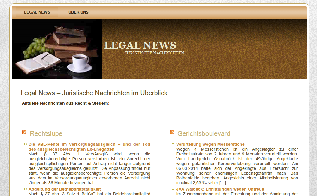 legalnews - LegalNewsLetter