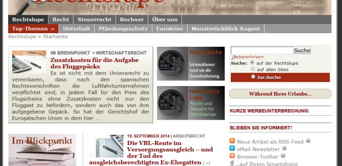 Rechtslupe & Co.